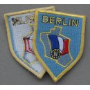 Patch of the French Armed Forces in Berlin, late Variation