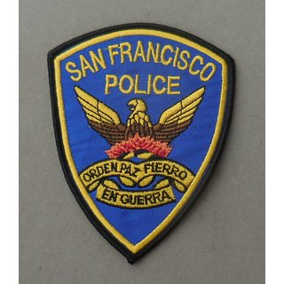 San Francisco Police Badge