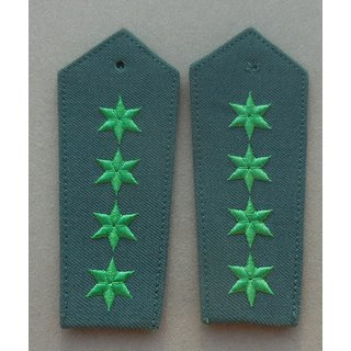 Shoulder Boards, Police - 1990, Transitional Period