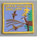 Upper Mohawk Council 1970 Abzeichen BSA