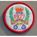 The Queens Silver Jubilee 1977 Scout Patch