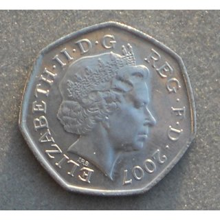 50 Pence Coin - 100 Years of Scouting