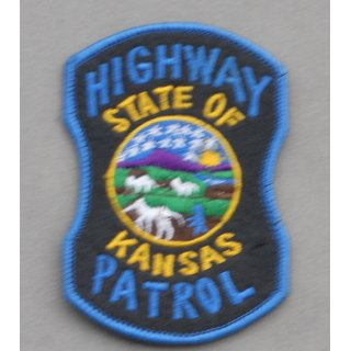 Kansas Highway Patrol Police Patch