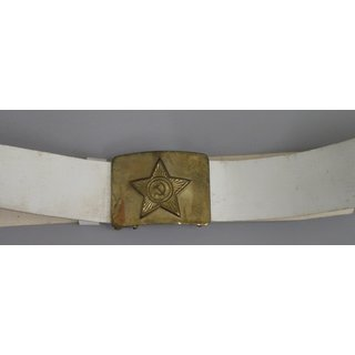 Soviet Enlisted Parade Belt, white plastic, Army / Air Force