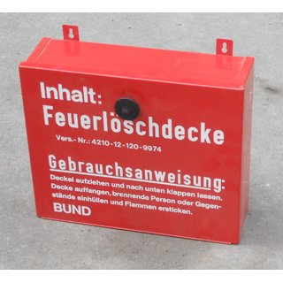 Storage Box for Fire Blanket