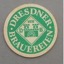 VEB Dresden Breweries  Coaster