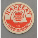 Hanseat Rostock Brewery - VEB Beverages Combinate Coaster