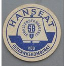 VEB Hanseat Beverages Combinate - Stralsund Brewery  Coaster