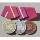 ZV Medal Bar, 3 Awards