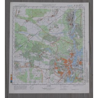 General Staff Map, Berlin, 1: 50.000