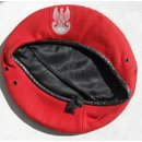 Military Police Beret, red