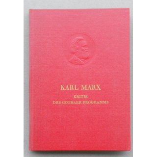 Karl Marx, Critique of the Gotha Programme