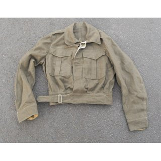 S-African Battle Dress Blouse, 1940 Pattern, khaki