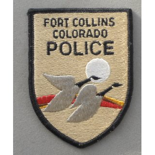Fort Collins - Colorado Police Patch