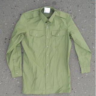 Shirt Man's, General Service, Long Sleeve, olive